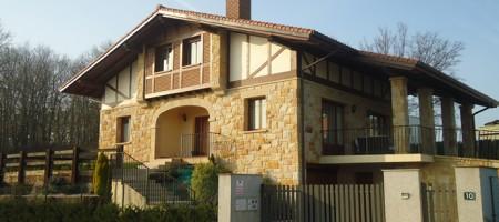 Estructura de hormigón para vivienda unifamiliar en Mungia