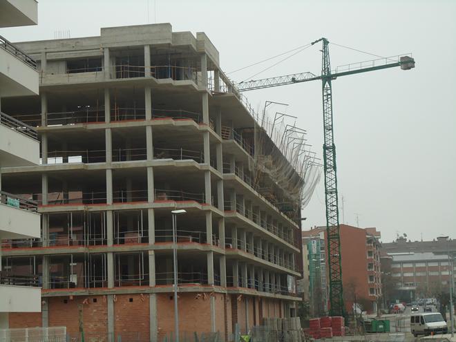 Estructura de hormig n para edificio de 83 viviendas - Viviendas de hormigon ...