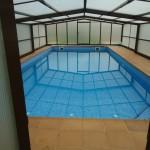 Piscina para vivienda unifamiliar en Elorrio